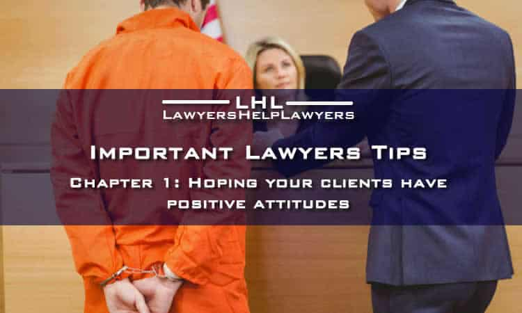 Important Lawyer Tips: Chapter 1