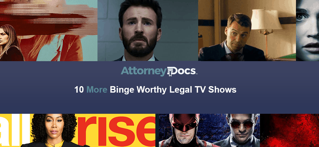 10 More Binge Worthy Legal TV Shows