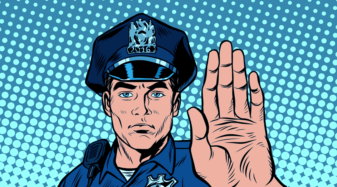 What to do if a police officer stops you